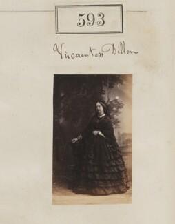 Lydia Sophia (née Story), Viscountess Dillon, by Camille Silvy - NPG Ax50273