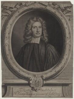 George Walker, by and published by Peter Vanderbank (Vandrebanc), after  Sir Godfrey Kneller, Bt - NPG D31181