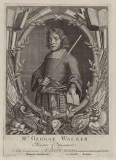 George Walker, by John Savage, published by  John Bowles - NPG D31182