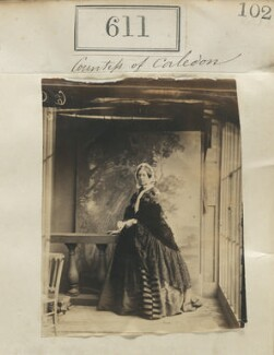 Jane Frederica Harriot Mary (née Grimston), Countess of Caledon, by Camille Silvy - NPG Ax50283
