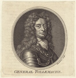 Thomas Tollemache (Talmash, Talmach, Tolmach), by Thomas Chambers (Chambars), after  Sir Godfrey Kneller, Bt - NPG D31203