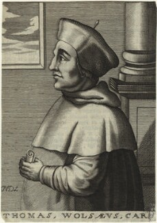 Thomas Wolsey, by Nicolas de Larmessin - NPG D33087