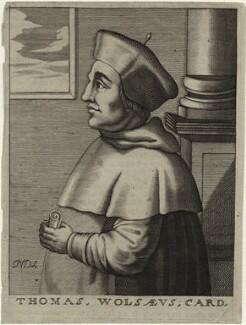 Thomas Wolsey, by Nicolas de Larmessin - NPG D33088