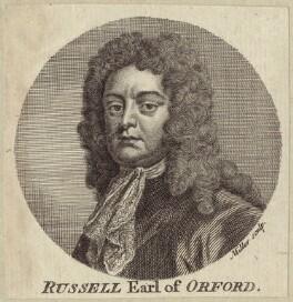 Edward Russell, Earl of Orford, by Johann Sebastian Müller, after  Sir Godfrey Kneller, Bt - NPG D31207
