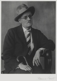 James Joyce, by Berenice Abbott - NPG P1310
