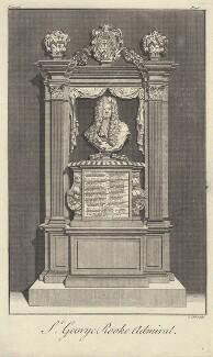 Sir George Rooke, by James Cole - NPG D31210