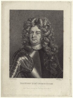 Sir George Rooke, by and published by Edward Harding, after  Michael Dahl - NPG D31211