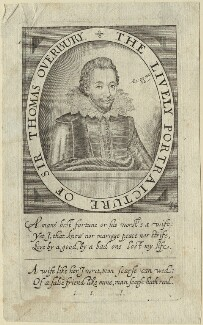 Sir Thomas Overbury, by and published by Simon de Passe, circa 1613-1622 - NPG D33168 - © National Portrait Gallery, London