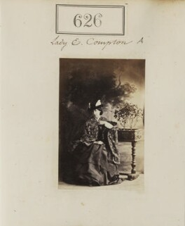 Eliza (née Elliot), Marchioness of Northampton, by Camille Silvy - NPG Ax50295