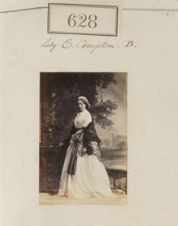 Eliza (née Elliot), Marchioness of Northampton, by Camille Silvy - NPG Ax50296