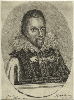 Sir Thomas Overbury, by Unknown artist - NPG D33170
