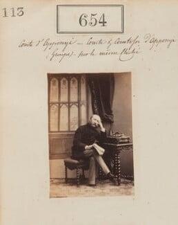 Rudolf, Count Apponyi, by Camille Silvy - NPG Ax50309