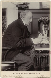 Sir John Everett Millais, 1st Bt, by London Stereoscopic & Photographic Company - NPG x131725