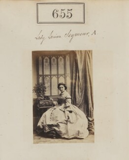 Lady Louisa Seymour, by Camille Silvy - NPG Ax50310