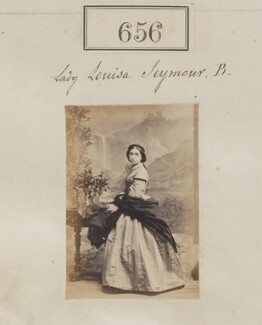 Lady Louisa Seymour, by Camille Silvy - NPG Ax50311