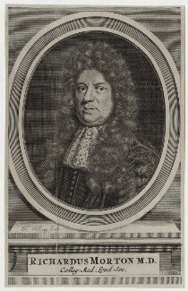 Richard Morton, by Adriaen Haelwegh - NPG D31239