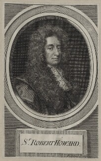 Sir Robert Howard, by George Vertue, after  Sir Godfrey Kneller, Bt - NPG D31249