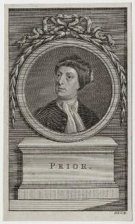 Matthew Prior, by John Hall, after  Jonathan Richardson - NPG D31250