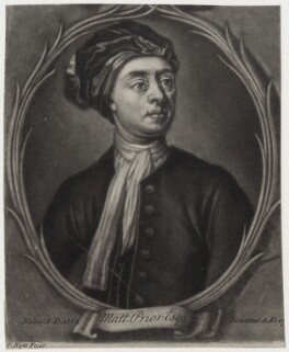 Matthew Prior, by Francis Kyte, after  Jonathan Richardson - NPG D31251