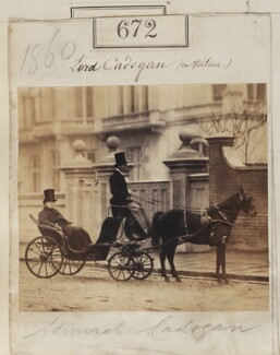 George Cadogan, 3rd Earl Cadogan and an unknown man, by Camille Silvy - NPG Ax50322