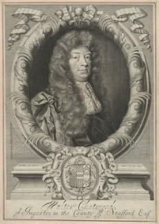 Walter Chetwynd, by Robert White - NPG D33177