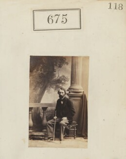 Charles Compton, 3rd Marquess of Northampton, by Camille Silvy, 1860 - NPG Ax50324 - © National Portrait Gallery, London