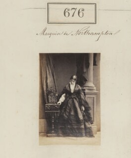 Theodosia Harriet Elizabeth (née Vyner), Marchioness of Northampton, by Camille Silvy - NPG Ax50325