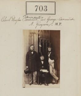 Lord George Henry Cavendish; Samuel Gregson; Edward Gordon Douglas-Pennant, 1st Baron Penrhyn, by Camille Silvy - NPG Ax50346