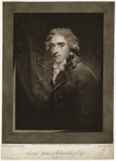George James Cholmondeley, by John Jones, after  Sir Joshua Reynolds - NPG D33189