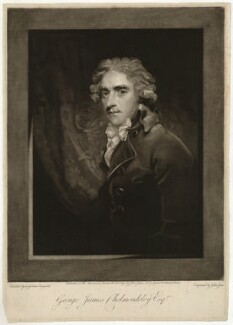 George James Cholmondeley, by John Jones, after  Sir Joshua Reynolds - NPG D33190
