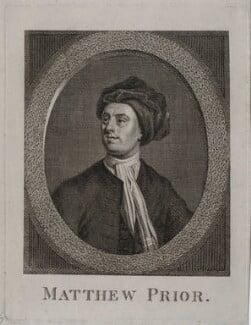 Matthew Prior, after Jonathan Richardson - NPG D31252