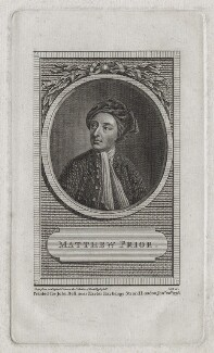 Matthew Prior, by Cook, after  Jonathan Richardson - NPG D31254