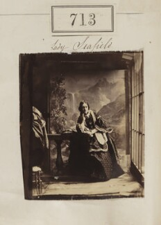 Caroline (née Stuart), Countess of Seafield, by Camille Silvy - NPG Ax50355