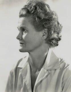 Joy Adamson (née Friederike Viktoria Gessner), by Madame Yevonde, 1962 - NPG x131727 - © Yevonde Portrait Archive