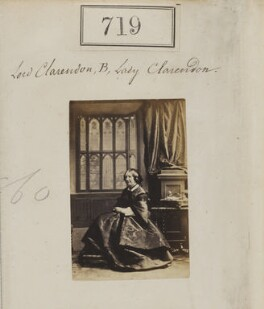 Catherine Villiers (née Grimston), Countess of Clarendon, by Camille Silvy - NPG Ax50356