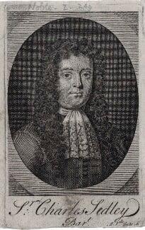 Sir Charles Sedley, by Michael Vandergucht - NPG D31260