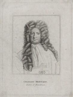 Charles Montagu, 1st Earl of Halifax, after Sir Godfrey Kneller, Bt - NPG D31261