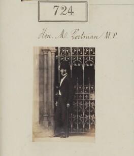 William Henry Berkeley Portman, 2nd Viscount Portman, by Camille Silvy - NPG Ax50360