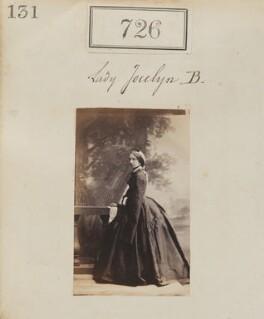 Frances Elizabeth Jocelyn (née Cowper), Viscountess Jocelyn, by Camille Silvy - NPG Ax50362