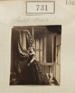 Lady Elizabeth Lucy Cuffe (née Campbell), Countess of Desart, by Camille Silvy - NPG Ax50365