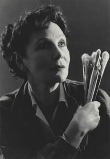 Doris Zinkeisen, by Madame Yevonde, circa 1955 - NPG x131755 - © Yevonde Portrait Archive