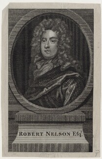 Robert Nelson, after Sir Godfrey Kneller, Bt - NPG D31267
