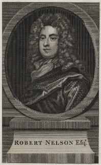 Robert Nelson, after Sir Godfrey Kneller, Bt - NPG D31268
