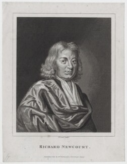 Richard Newcourt, by Thomas Cook, after  Unknown artist, published by  William Richardson - NPG D31272