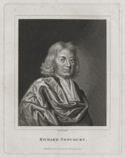 Richard Newcourt, by Thomas Cook, after  Unknown artist, published by  William Richardson - NPG D31273