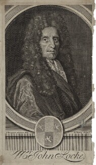 John Locke, by Joseph Nutting, after  Sylvester Brounower - NPG D31278
