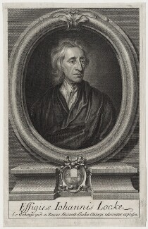 John Locke, by George Vertue, after  Sir Godfrey Kneller, Bt, published 1714 (1697) - NPG D31279 - © National Portrait Gallery, London