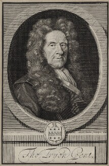 Thomas Tryon, by Robert White, after  Unknown artist - NPG D31284