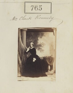 Charlotte Isabella Clark-Kennedy (née Cust), by Camille Silvy - NPG Ax50387
