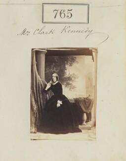 Charlotte Isabella Clark-Kennedy (née Cust), by Camille Silvy - NPG Ax50387
